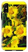 These Golden Flowers IPhone X Tough Case
