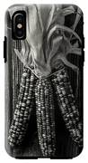 Three Indian Corn In Black And White IPhone X Tough Case