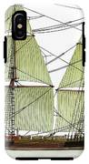 Three Masts Commercial 1760 IPhone X Tough Case