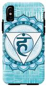 Throat Chakra - Awareness IPhone X Tough Case