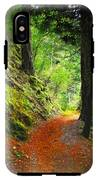 Through The Woods IPhone X Tough Case