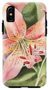 Tiger Lily Watercolor By Irina Sztukowski IPhone X Tough Case