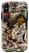 Tigers For Responsible Tourism IPhone X Tough Case