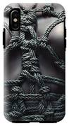 Topless Rope Harness Close Up - Fine Art Of Bondage IPhone X Tough Case