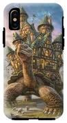 Tortoise House IPhone X Tough Case
