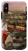 Train Station - Wuppertal Suspension Railway 1913 IPhone X Tough Case