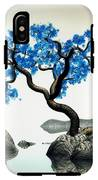 Tree In Blue IPhone X Tough Case