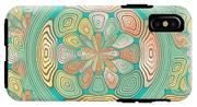Tropical Color Abstract IPhone X Tough Case