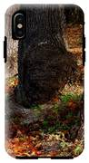 Trunk And Leaves IPhone X Tough Case