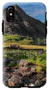 Tryfan Mountain Valley IPhone X Tough Case