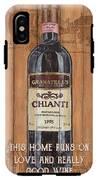 Tuscan Chianti 2 IPhone X Tough Case