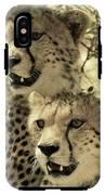 Two Cheetahs IPhone X Tough Case
