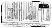 Two Prisoners Sit In Separate Dog Kennel Cells IPhone X Tough Case