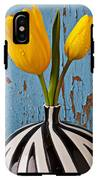 Two Yellow Tulips IPhone X Tough Case