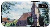 Village Church  IPhone X Tough Case