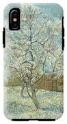 Vincent Van Gogh, The Pink Peach Tree IPhone X Tough Case