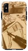Vintage Fashion Design IPhone X Tough Case