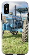 Vintage Ford 7610 Farm Tractor IPhone X Tough Case