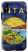 Vintage Montana Flag IPhone X Tough Case