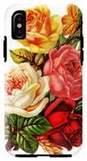 Vintage Rose I IPhone X Tough Case