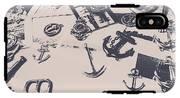 Vintage Sailing Art IPhone X Tough Case