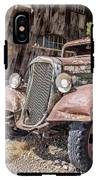 Vintage Water Truck In The Desert IPhone X Tough Case
