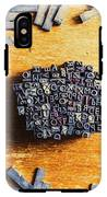 Vintage Writers Block IPhone X Tough Case