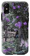Violet Muted Garden Respite IPhone X Tough Case