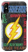 Virtues Of A Superhero 2 IPhone X Tough Case