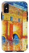 Wailing Wall Original Palette Knife Painting IPhone X Tough Case
