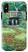 Water Lilies Bridge IPhone X Tough Case