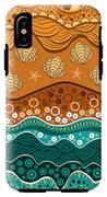 Waves IPhone X Tough Case