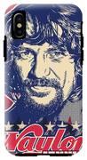 Waylon Jennings Pop Art IPhone X Tough Case