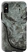 Weathered Wood 1 IPhone X Tough Case