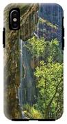 Weeping Rock - Zion Canyon IPhone X Tough Case