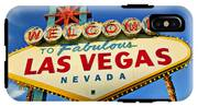 Welcome To Las Vegas Sign IPhone X Tough Case