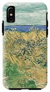 Wheat Field With Cornflowers At Wheat Fields Van Gogh Series, By Vincent Van Gogh IPhone X Tough Case