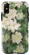 White Clematis IPhone X Tough Case