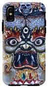 White Mahakala  IPhone X Tough Case
