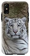 White Tiger Resting IPhone X Tough Case