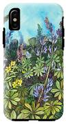 Wild Prairie Lupine IPhone X Tough Case