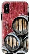 Wine Barrels IPhone X Tough Case