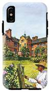 Winston Churchill Painting At Chartwell IPhone X Tough Case