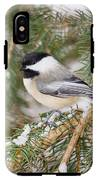 Winter Chickadee IPhone X Tough Case