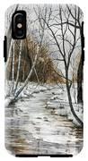 Winter River IPhone X Tough Case