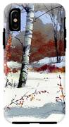 Wintertime Painting IPhone X Tough Case