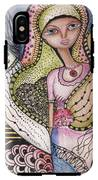 Woman With Large Eyes IPhone X Tough Case