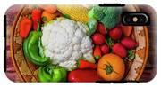 Wonderful Fresh Vegetables IPhone X Tough Case