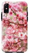 Wonderfully Delicate Pink Cherry Blossoms At Canberra's Floriade IPhone X Tough Case