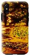 Wood At Night IPhone X Tough Case